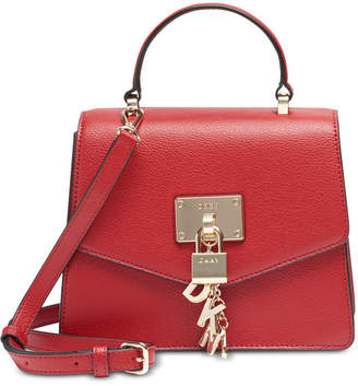 DKNY Elissa Top Handle Leather Satchel