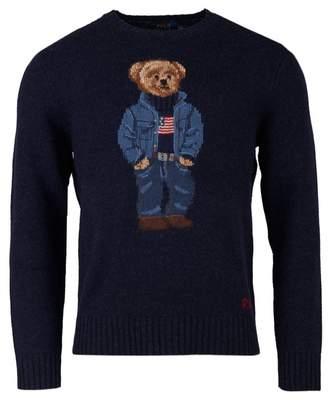Polo Ralph Lauren Polo Bear Crew Neck Knit