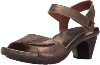 Aravon Women's Medici Heeled Sandal 7.5 B US