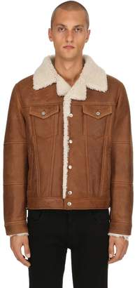Diesel Black Gold Shearling Jacket