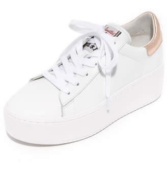 Ash Cult Platform Sneakers $210 thestylecure.com