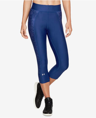 Under Armour HeatGear Compression Capri Leggings