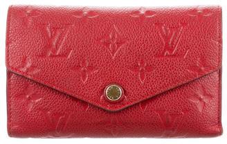 Louis VuittonLouis Vuitton Empreinte Compact Curieuse Wallet