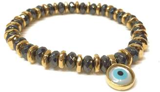 Eye Of The Sea Evil Eye Charm Bracelet