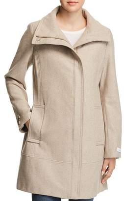 Calvin Klein Seamed Bouclé Coat