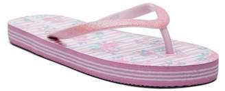 Laura Ashley Glitter Flip Flop Sandal (Little Kid & Big Kid)