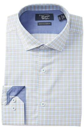 Original Penguin Plaid Heritage Slim Fit Dress Shirt