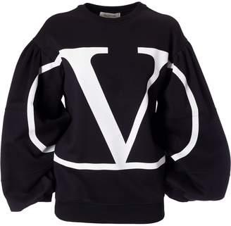 Valentino Logo Printed Sweatshirt