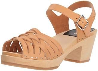 Swedish Hasbeens Women's Braided High Heeled Sandal