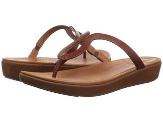 FitFlop Stratatm Toe-Thong Sandals - Leather Women's Sandals