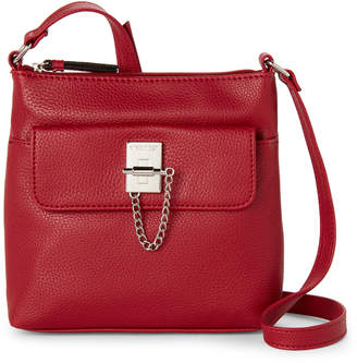 Nine West Ruby Red Time To Lock Crossbody
