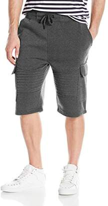 Akademiks Men's Gordon Moto Sweatshort
