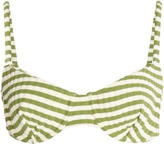 Solid & Striped Ginger Striped Bikini Top