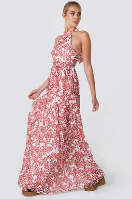Trendyol Neck Collar Maxi Dress