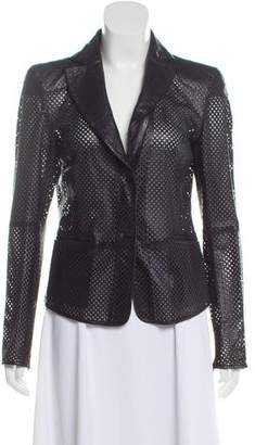 Emporio Armani Lightweight Perforated Blazer