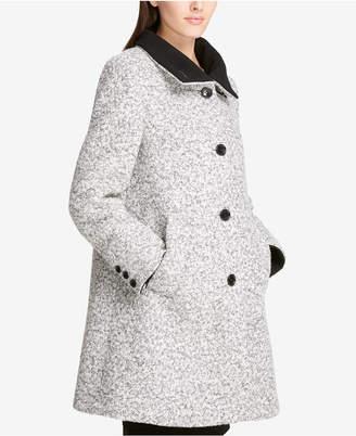 DKNY Stand-Collar Walker Coat