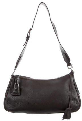 pradaPrada Vitello Daino Shoulder Bag