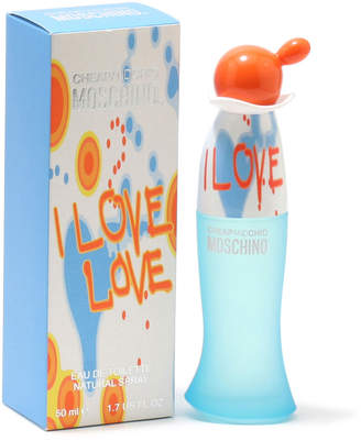 Moschino I Love Love Ladies Eau de Toilette Spray 1.7 fl. oz. \/ 50 ml