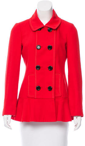 Kate Spade Kate Spade New York Double-Breasted Short Coat