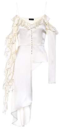 Magda Butrym Pireus embellished silk blouse