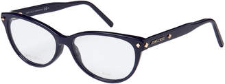 Jimmy Choo JC163 Blue Cat Eye Optical Frames