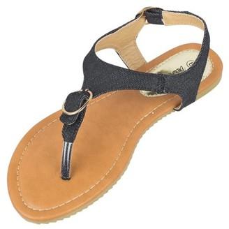 Victoria K Buckle Fashion Sandals