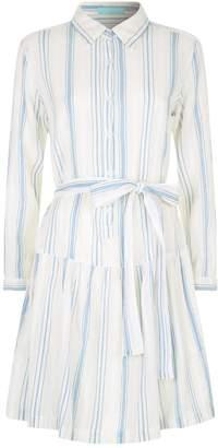 Melissa Odabash Amelia Belted Shirt Dress