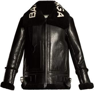 Le Bombardier shearling jacket