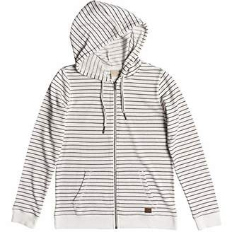 Roxy Junior's Trippin Stripes Zip-Up Fleece Sweatshirt
