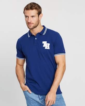 Tommy Hilfiger Regular College Polo Shirt