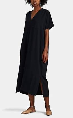 ROUCHA Women's Deo Silky Crepe Shift Dress - Navy