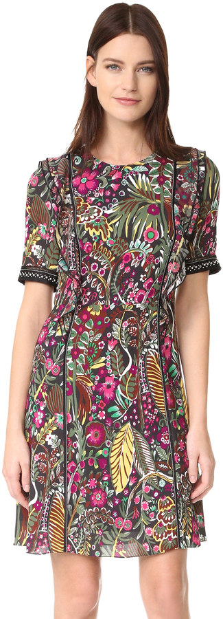 3.1 Phillip Lim 3.1 Phillip Lim Wild Things Floral Dress