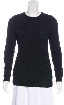 Rachel Zoe Cable Knit Sweater