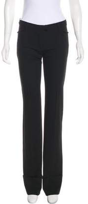 Plein Sud Jeans Wool Mid-Rise Straight-Leg Pants w/ Tags