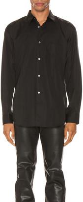 Comme des Garcons Forever Forever Long Sleeve Shirt in Black   FWRD