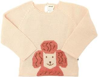 Oeuf Poodle Baby Alpaca Tricot Sweater