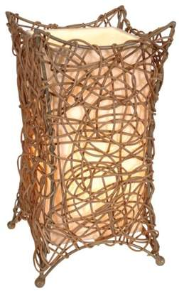 Camilla And Marc Naeve Leuchten 339727 Wicker Table Lamp 30 x 16 cm
