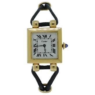 Cartier Vintage Tank Yellow Yellow gold Watches