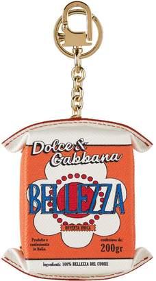Dolce & Gabbana Leather Juice Box Keyring