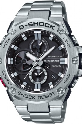 Casio Mens G-Steel Bluetooth Triple Connect Chronograph Radio Controlled Watch GST-B100D-1AER