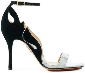 Pre-owned - Cloth sandal Charlotte Olympia 1oEeD