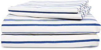 Lauren Ralph Lauren Alexis Cotton 4-Pc. Stripe California King Sheet Set Bedding