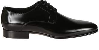Dolce & Gabbana Round Toe Lace-up Shoes