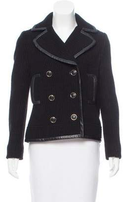 Tory Burch Wool Knit Blazer