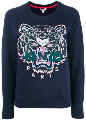 Kenzo tiger print sweatshirt