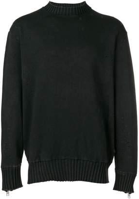 Diesel distressed sweatshirt