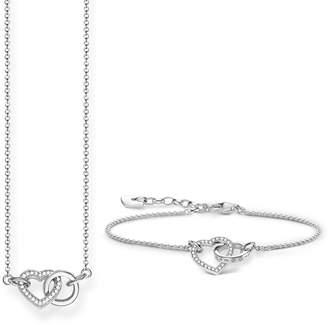 Thomas Sabo Together Necklace & Bracelet Set