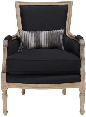 Pottery Barn Augusta Striped Armchair