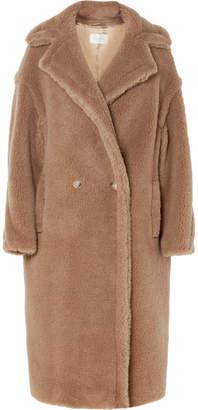 Max Mara Teddy Bear Camel Hair And Silk-blend Coat - Beige