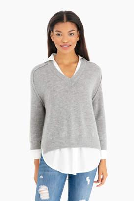 White Maternity Sweaters